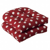 Pillow Perfect Inc. 386072 Pillow Perfect -Red/White