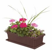 Myers-itml-akro Mils 24in. Chocolate Venetian Flower Boxes VNP24000E21 - Pack of 6