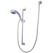 Kingston Brass Kxk1801W1 Professional Shower Combination - Polished Chrome Finish