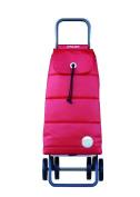 Rolser 8420812924646 PAC024 Logic Shopping Trolley Pack Polar - Red - 2 Units
