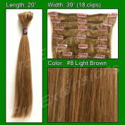 Brybelly Holdings PRRM-20-8 No. 8 Light Brown - 50cm Remi