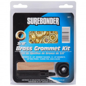 FPC Corporation Surebonder Brass Grommet Kit Bright Brass