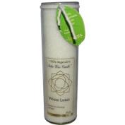 Aloha Bay 0278275 Chakra Candle Jar White Lotus - 11 oz