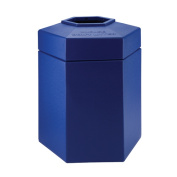 DCI Marketing 737204 170.3l Hex Waste Container - Blue