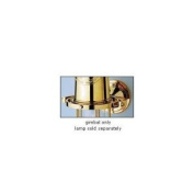 Weems & Plath 705 Solid Brass Gimbal for Large Yacht Lamp & Vase