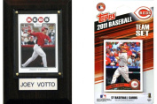 C and I Collectables 11REDSFP MLB Cincinnati Reds Fan Pack
