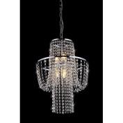 Warehouse of Tiffany RL6568 Charlotte Crystal-Chrome Chandelier