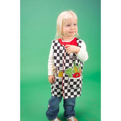 Dexter Educational Toys DEX1203 Toddlers Dress-Up Outfit Cook