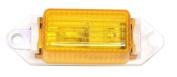 Peterson Mfg. Amber Mini Clearance Light V107WA