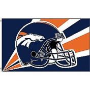 0.9m x 1.5m Polyester Denver Broncos Flag