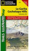 National Geographic TI00000139 Map Of La Garita-Cochetopa - Colorado
