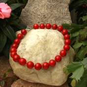 Betty Rocks BNKCRR101180018T1 18 in. Polished Red Coral Necklace