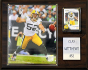C & I Collectables 1215CMATTHEW NFL Green Bay Packers Player Plaque