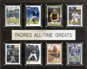 C and I Collectables 1215ATGSDP MLB San Diego Padres All-Time Greats Plaque