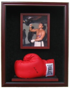 Powers Collectibles BOXINGGLOVEWITHPICWEB240x307 Boxing Glove with 8x10 Photo Display- 99911345