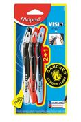 Maped Usa MAP224324 Maped Visio Pen 3Pk