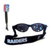 Oakland Raiders Neoprene NFL Sunglass Strap