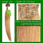 Brybelly Holdings PRRM-24-1822 No. 18-22 Dark Blonde with Golden Highlights - 60cm REMI