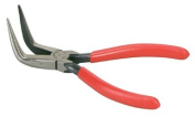 Cooper Hand Tools Crescent 181-8886CVN 15.2cm Curved Needle Nose Solid Joint Pliers