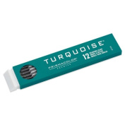 Pk/12 Prismacolor Turquoise Drawing Leads, 2 mm, HB