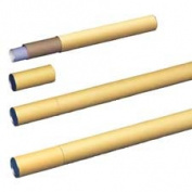 Nature Saver NAT92524 Recycled Mailing Tube- 2-.130cm .Dx60cm .L- Brown