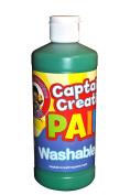 Certified Colour Corporation CCR902016 Captain Creative Green 470ml Washable Paint