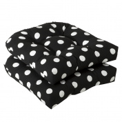 Pillow Perfect Inc. 386065 Pillow Perfect -Black/White