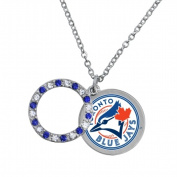 Game Time Group 101647 MLB Toronto Blue Jays Disc Necklace
