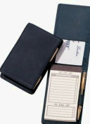 Royce Leather Deluxe Flip Style Note Jotter-Metro Collection