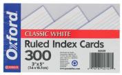 Esselte Pendaflex 40149 300 Count 7.6cm . X 13cm . White Ruled Index Cards