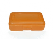 Romanoff Products ROM60227 Pencil Box Tangerine