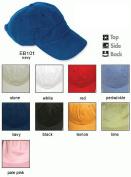 Adams Headwear ACEB101PE00001 ESSENTIALS BRUSHED TWILL EB101 PERIWINKLE