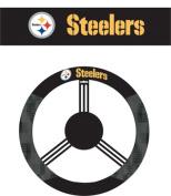 Fremont Die 98513 Pittsburgh Steelers- Poly-Suede Steering Wheel Cover