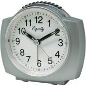 Equity By La Crosse Quartz Analogue Alarm Clock With Lighted Dial 27006