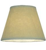 Meyda Tiffany 116558 12.7cm . Aged Celadon Parchment Shade
