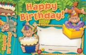 Bookmark Awards Happy Birthday Monkeys