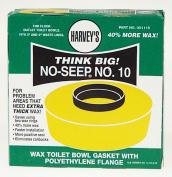 Wm Harvey Co Wax Toilet Bowl Gasket With Polyethylene Flange 001115-24