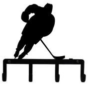 Village Wrought Iron KH-158 Hockey Key Holder