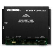 Viking Electronics VK-K-2000-DVA Multi-Input Voice Dialer/Annou