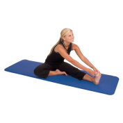 AGM Group 71511 120cm . D Elite Dual Smooth Surface Ribbed Mat - Blue