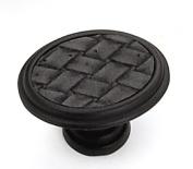 Strategic Brands 12192 1. 160cm Oval Knob-Oil Rubbed Bronze-Black