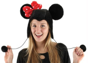 Costumes For All Occasions EL250081 Minnie Mouse Hoodie Hat
