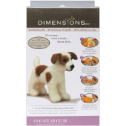 Dimensions 72-73795 Feltworks Little Felted Characters-Dog