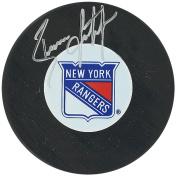 Steiner Sports LEETPUS000012 Brian Leetch Rangers Autograph Puck