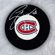 AJ Sports World LEEG105050 GARY LEEMAN Montreal Canadiens Autographed Hockey PUCK
