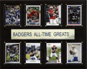 C & I Collectables 1215ATGWISC NCAA Football Wisconsin Badgers All-Time Greats Plaque
