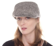 Nirvanna Designs CH513 Babu Ram Hat with Fleece Lining - Grey