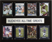 C & I Collectables 1215ATGBUCK NCAA Football Ohio State Buckeyes All-Time Greats Plaque
