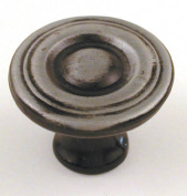 Ultra 1-.13in. Antique Steel Trendset High Density Zinc Knob 41532