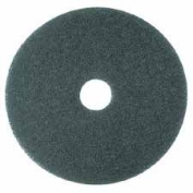 3M Commercial Office Supply Div. MMM08409 Cleaner Pad- Removes Dirt-Spills-Scuffs- 40.6cm .- 5-CT- Blue